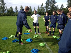 UEFA B coaching in action